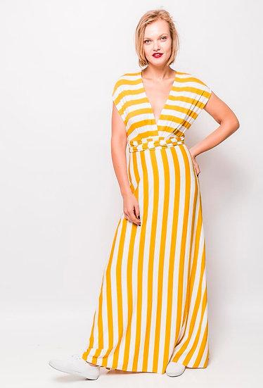 Stripe multiway dress