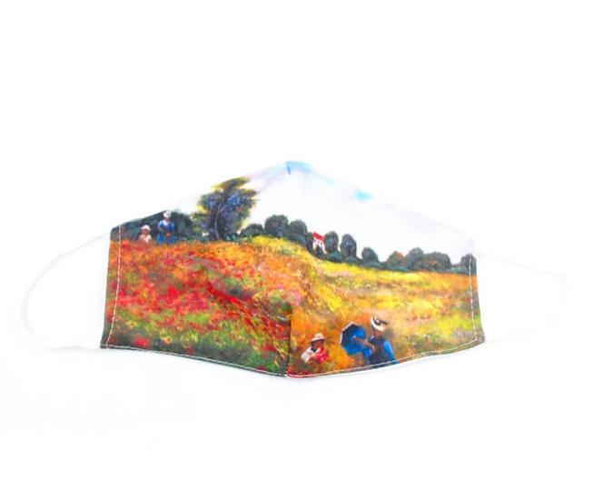 Landscape print mask