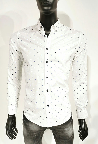 White spotted shirt