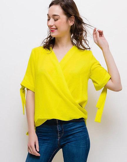 Yellow ribbon top