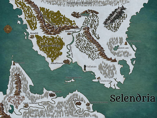Map of Selendria