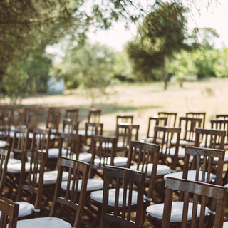 The ceremony space