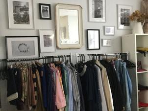 パリの古着屋さんをイメージ