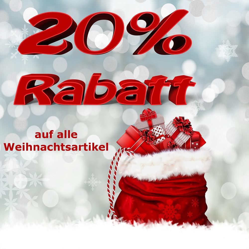 Weihnachtsschlussverkauf