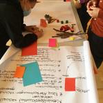 Vor allem Begegnungsorte, Gemeinschaftsprojekte und soziale Angebote haben sich die meisten TeilnehmerInnen der Auftaktveranstaltung gewünscht. Es ist ein Thema, das sich durch alle unsere GiP-Workshops in Küsnacht ziehen wird.