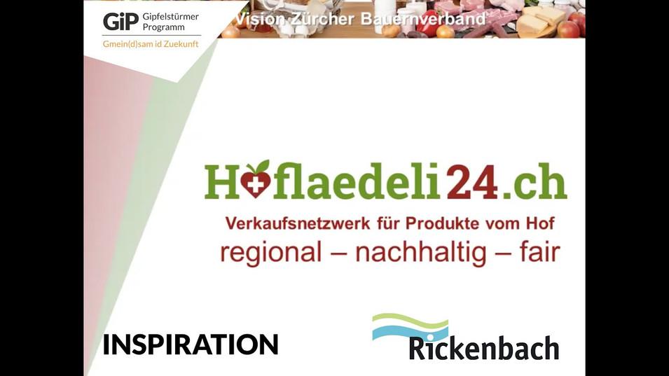 """Den Inspirations-Vortrag von Hoflädeli24 an unserem Online-Workshop vom 20.01. zum Thema """"Lokale Ernährungssysteme"""" gibts hier zum Nachschauen."""