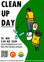 Gerne laden wir Sie zum Clean Up Day am 29.5. in Küsnacht ein. Eine tolle Aktion, die regelmässig von der Klimagruppe Küsnacht organisiert wird. Sie zeigt, dass auch kleine Schritte wertvoll sind und wir gemeinsam Grosses erreichen können.