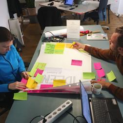 Von der Wand an den Stammtisch - Nach der Auftaktveranstaltung haben wir Ihre Ideen für das nachhaltige Küsnacht der Zukunft kategorisiert und in einen Workshop-Plan für das kommende Jahr übersetzt. Dabei werden wir neue Kontakte knüpfen, von Anderen lernen und miteinander Realisierungskonzepte diskutieren.