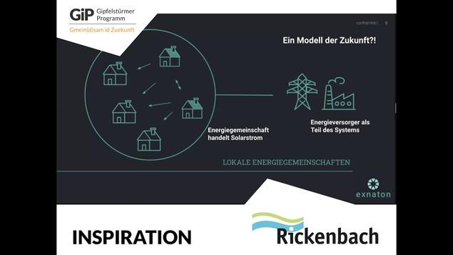 Inspirationsvortrag von Exnaton an unserem Online-Workshop zum Thema Energie & Gemeinschaftsinvestitionen im Februar 2021. Wie Energiegemeinschaften funktionieren und welche Vorteile sie auf Gemeindeebene mit sich bringen, sehen Sie hier auf Youtube nach.