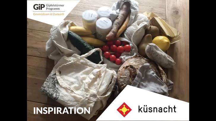 Inspirations-Vortrag von Tara Welschinger, Inhaberin von 2 Zero Waste Ladencafés in Zürich und Coach zum Zero Waste Lebensstil. Mitgezeichnet von unserem GiP-Workshop am 18.01. in Küsnacht.