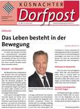 Ueli Schlumpf über das Gipfelstürmer Programm in der Küsnachter Dorfpost. Ein Leitartikel, der motiviert.
