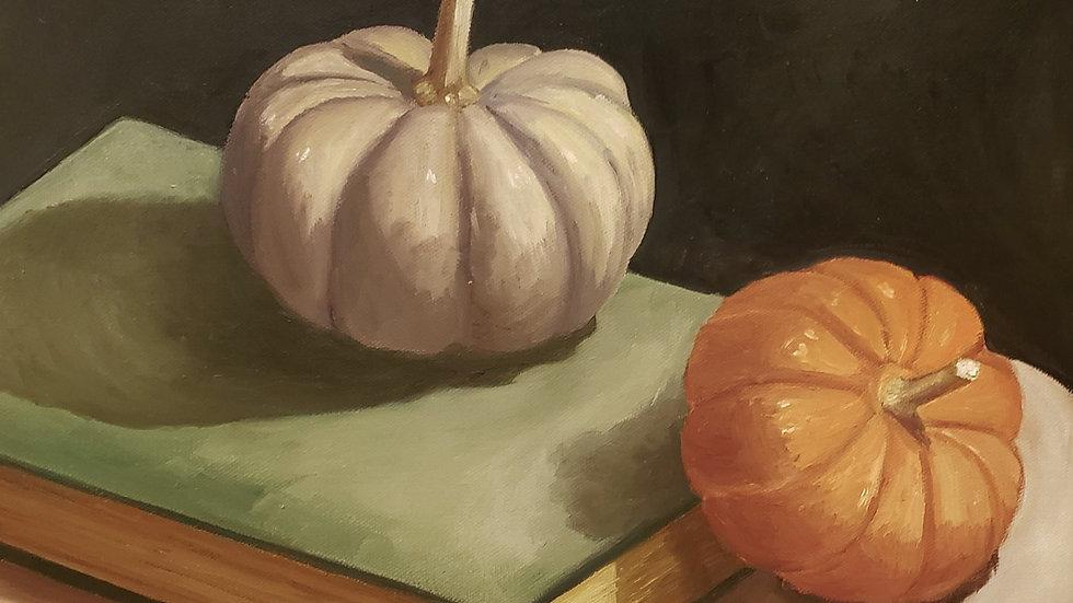 Pumpkins and Books