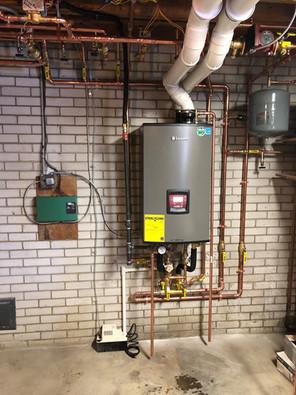 Lochinvar boiler system