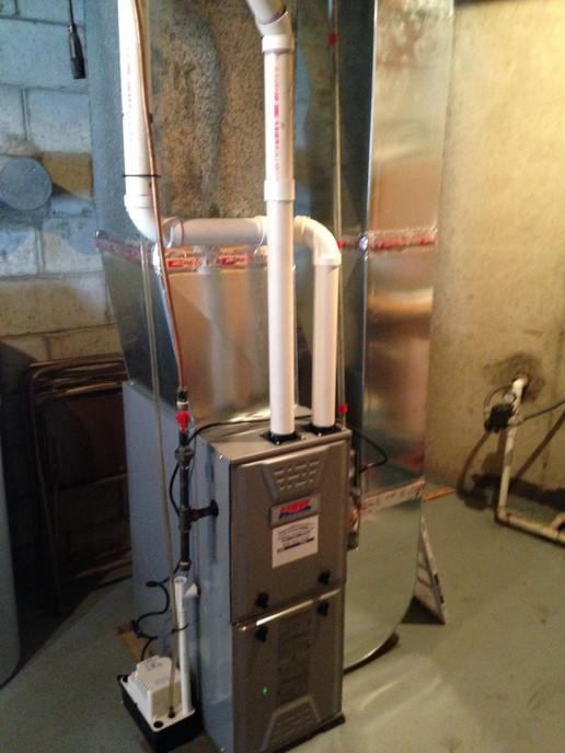 High efficiency furnace