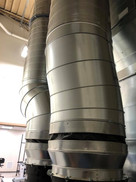 Commercial HVAC piping