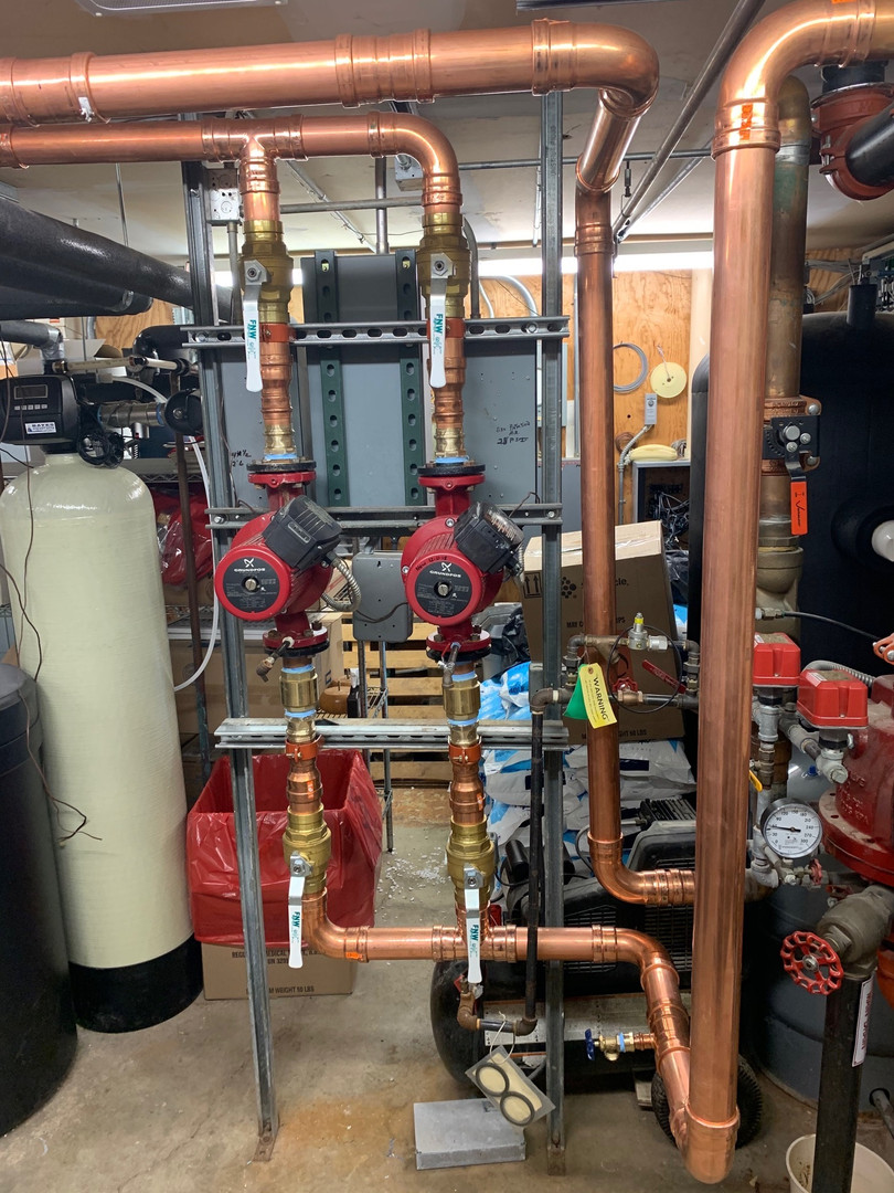 Commercial HVAC system