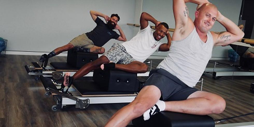 Pilates equipment circuit for men