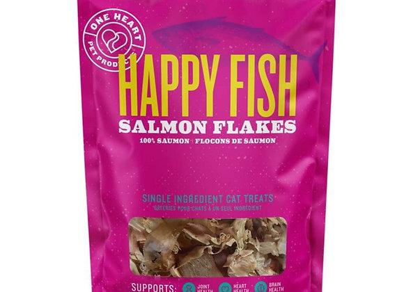 Happy Fish Salmon Flakes - 1 oz