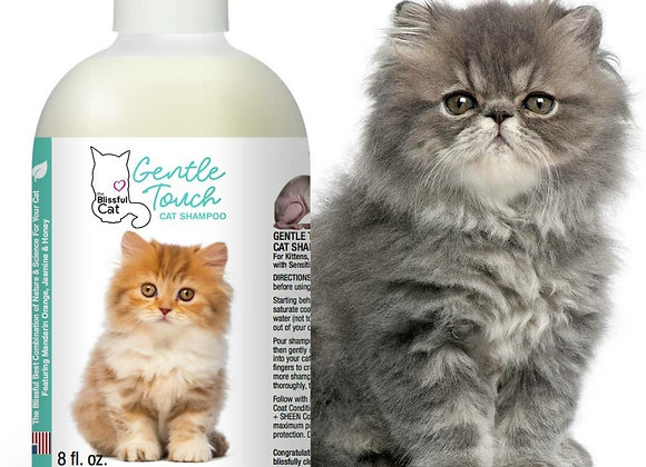 The Blissful Cat Gentle Touch Shampoo - 8 oz