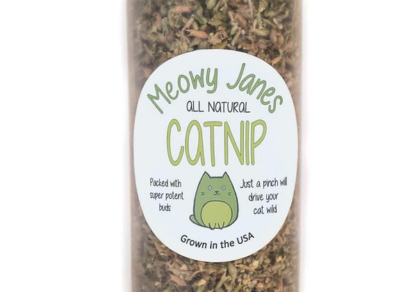 Meowy Janes All Natural Catnip 7.5 oz