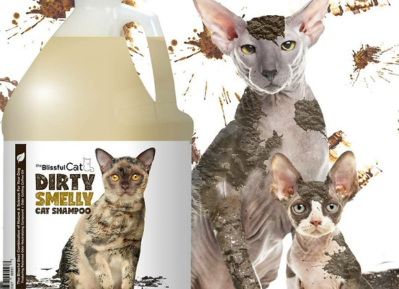 The Blissful Cat Dirty Smelly Cat Shampoo - 1 gallon