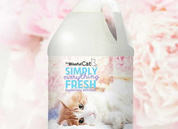 The Blissful Cat Simply Fresh Deodorizer - 1 gallon