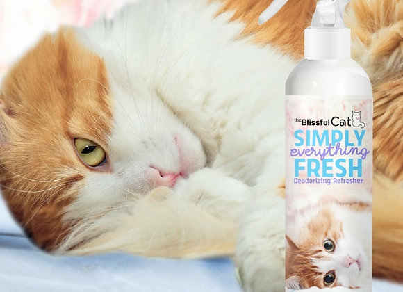 The Blissful Cat Simply Fresh Deodorizer - 8 oz