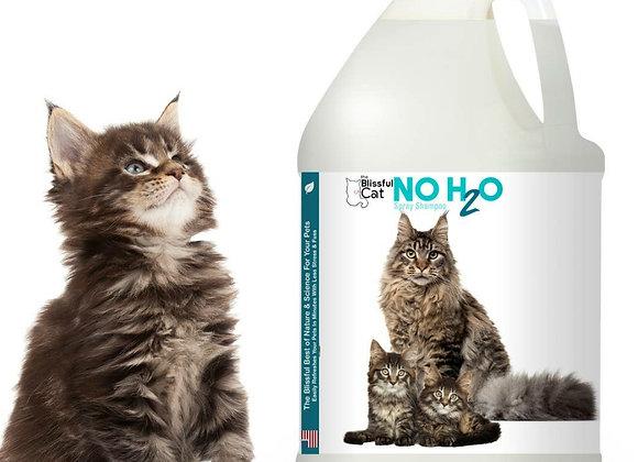 The Blissful Cat No H2O Spray Shampoo - 1 gallon