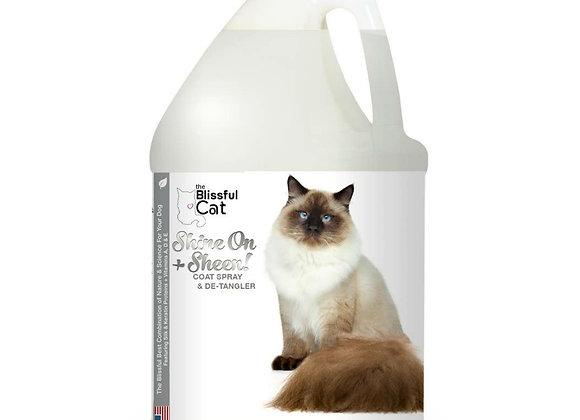 The Blissful Cat Shine and Detangler - 1 Gallon