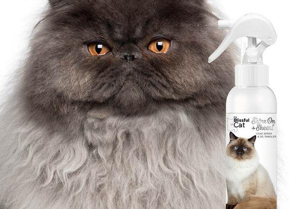The Blissful Cat Shine and Detangler Spray - 8 oz