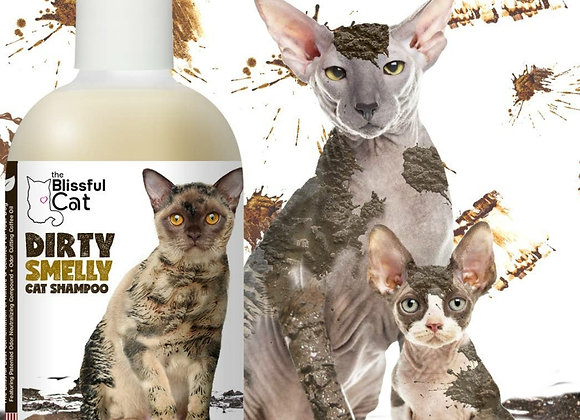 The Blissful Cat Dirty Smelly Cat Shampoo - 8 oz