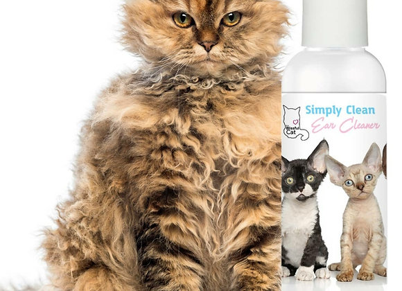 The Blissful Cat Simply Clean Ear Cleaner - 8 oz
