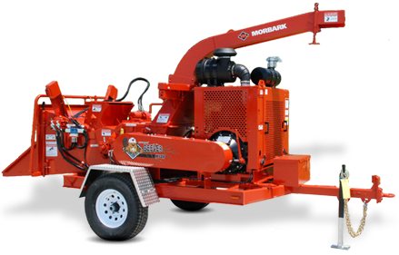 We have Morbark Chippers for tree mulching
