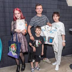 Отчетный показ в Детской школе дизайна и моды 5 июня 2021 года