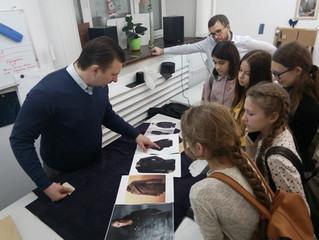"""Экскурсия в ателье Khalikov Tailors,  направление""""Юный модельер"""""""