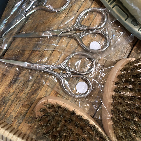 stainless steel beard trimming shears