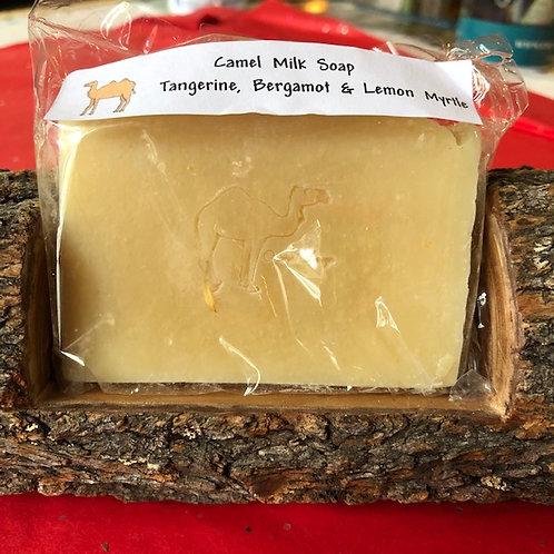 Tangerine and bergamot Camel milk soap