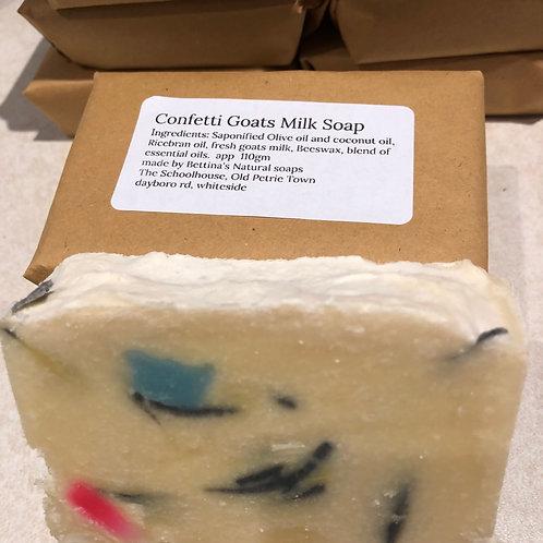 Confetti Goats milk soap