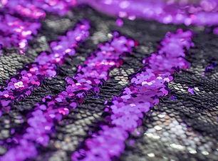 Purple & Sliver Backdrop