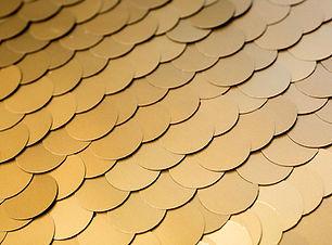 Large Gold Sequins Backdrop
