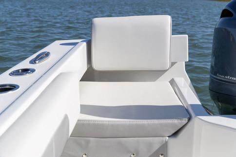 Parker Boats 2120SC Rear Starboard Seat.