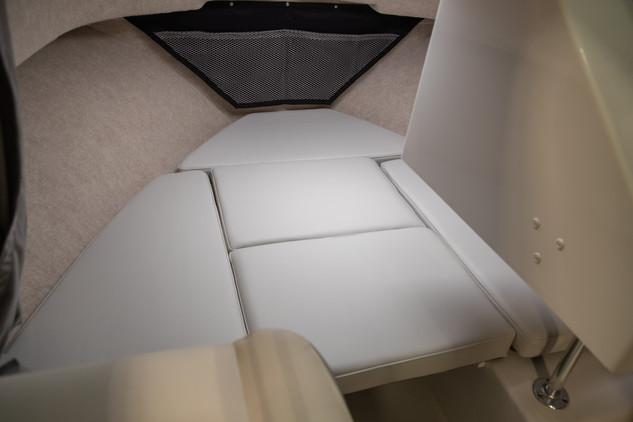 Parker Boats Sport Cabin Bow Cushions 1.