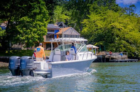 Parker Boats 2810 Walk Around Exterior-3