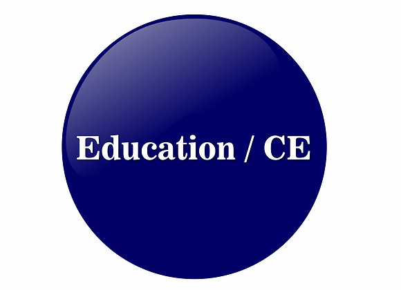 Education/CE Sponsor