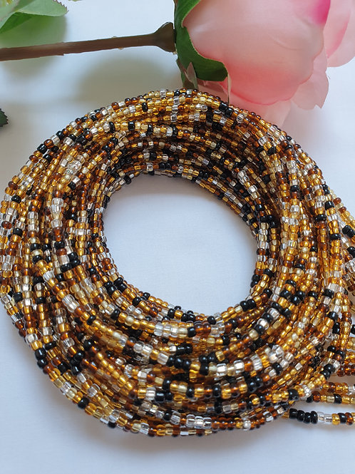Earth Tones waist beads