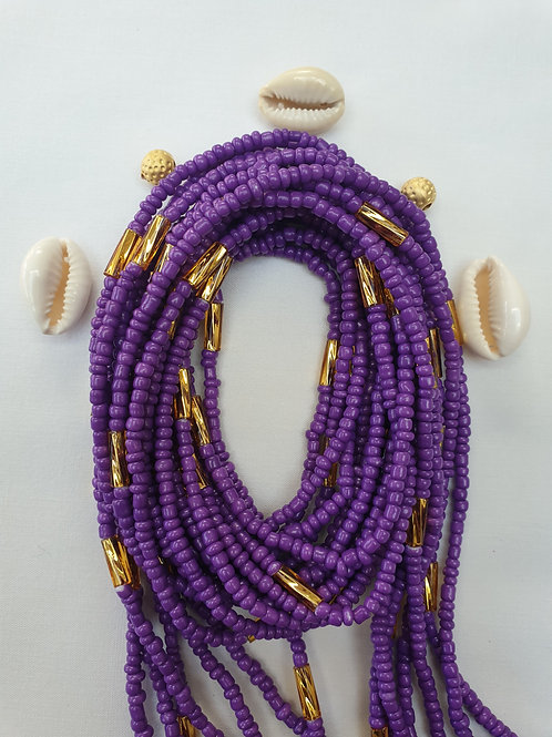 Purple with Gold Bars