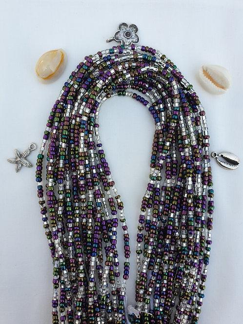 Clear & Iridescent Waist Beads