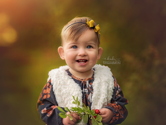 Spring outdoor photo sessions