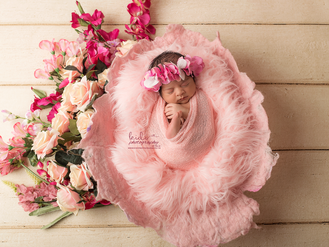 Flower Newborn Photo session