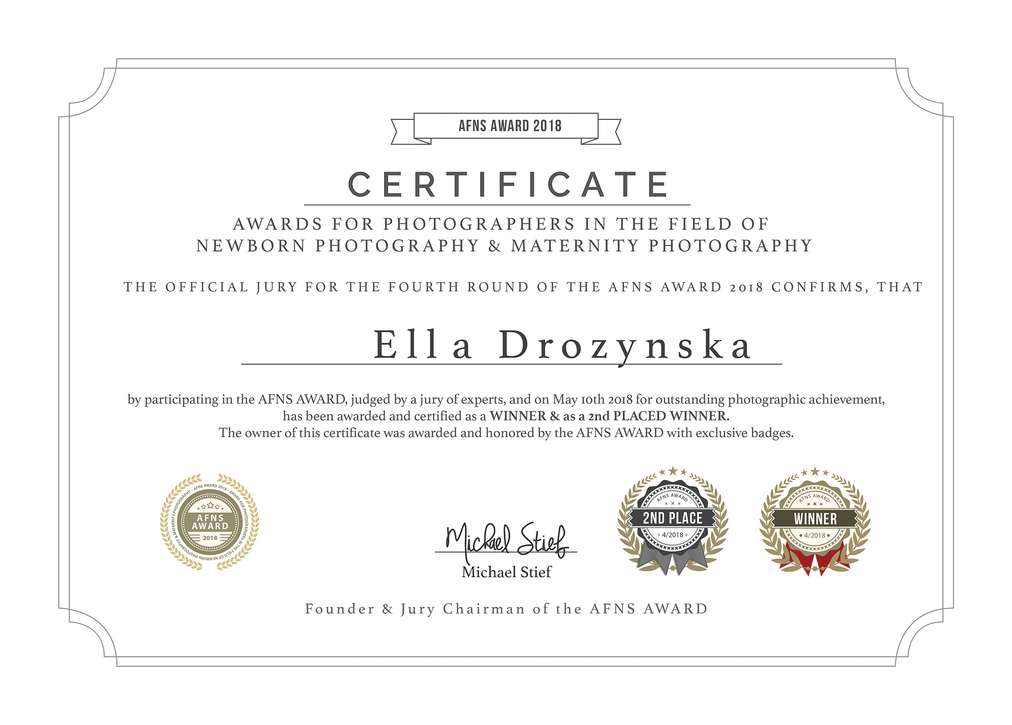 Kidi Photography by Ella Awards